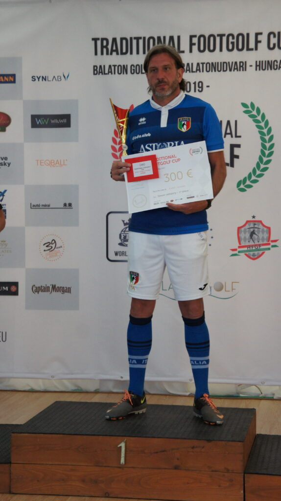 Fabio Mazzer, senior winner
